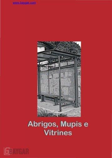 Mobiliario urbano: marquesinas, mupis y vitrinas ... - Baygar