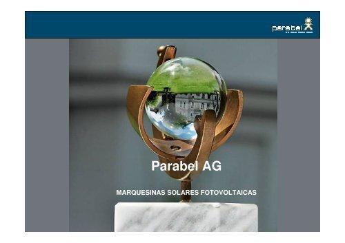 Parking fotovoltaico flexible - Interempresas