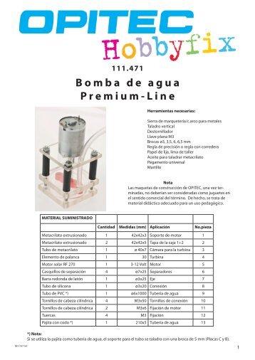 Bomba de agua Premium-Line