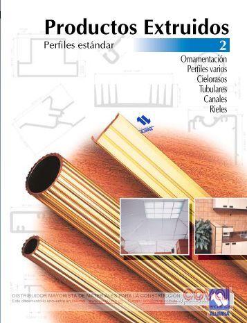 Alumina - Productos Extruidos, Perfiles Estándar ... - Coval.com.co