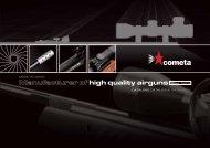 Manufacturer of high quality airguns - Carabinas de Aire ...