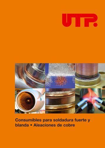 Consumibles para soldadura fuerte y blanda • Aleaciones de cobre