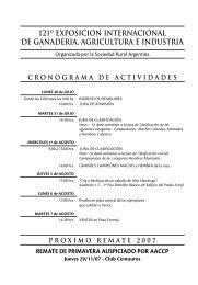 121º exposicion internacional de ganaderia, agricultura e industria