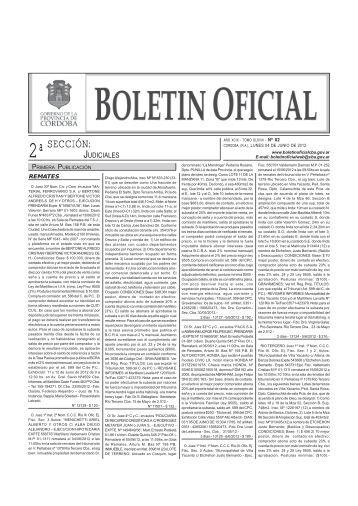 Boletín Nº 82 - Boletin Oficial