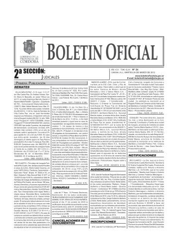 Boletín Nº 24 - Boletin Oficial