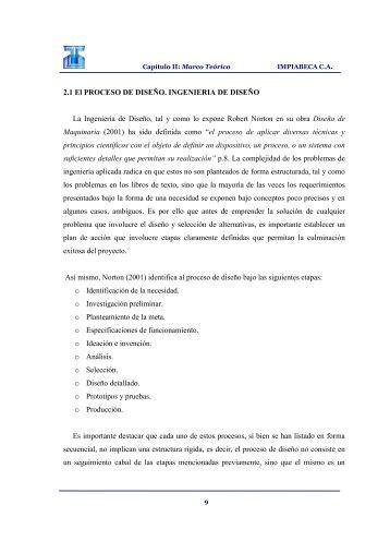 CAPÍTULO II: Marco Teórico (PDF) - Biblioteca UNET