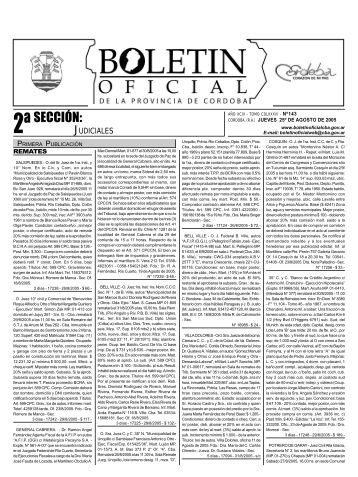 seccion2 defini - Boletin Oficial