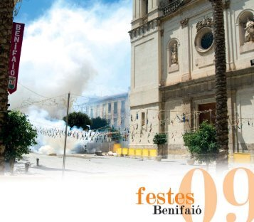 Llibre festes 2009 - Ayuntamiento de Benifaió