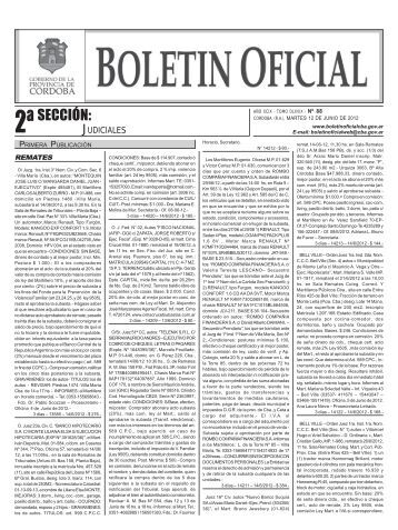 Boletín Nº 88 - Boletin Oficial