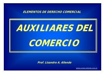 Auxiliares de Comercio - Cursos Allende