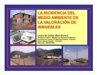 la incidencia del media ambiente en la valoracion - Instituto de ...