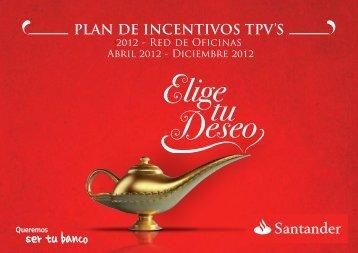Descargar catálogo en pdf - Santander: Plan de Incentivos TPV