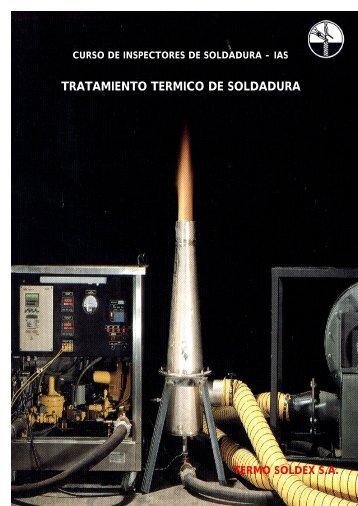 tratamiento termico de soldadura - Facultad de Ingeniería - UBA