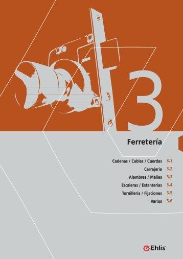 3.2 Cerrajería 3. FERRETERIA - MisFolletos.com