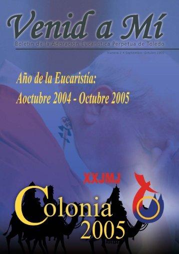 Nro. 2: Setiembre-Octubre 2005 - Mensajeros de la Reina de la Paz