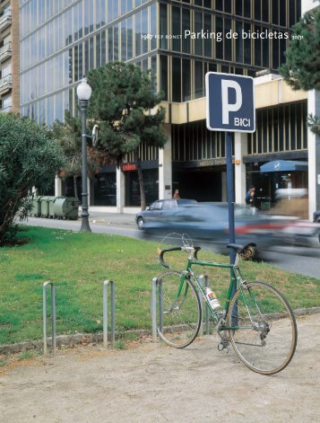1987 pep bonet Parking de bicicletas 30/31 - BD Barcelona Design