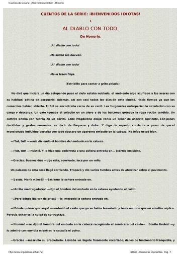 En PDF - Escritores imposibles