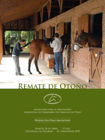 REMATE dE OTOñO - Asociación Argentina de Criadores de ...
