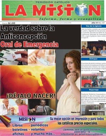 La verdad sobre la Anticoncepción Oral de Emergencia - Periodico ...