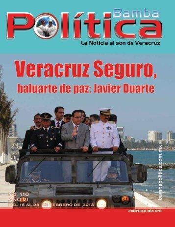 arma 110 - ¡Bienvenidos a la Bamba Política!