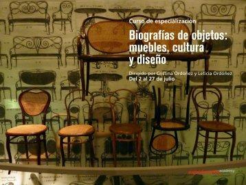 Biografías de objetos - Experimenta Academy