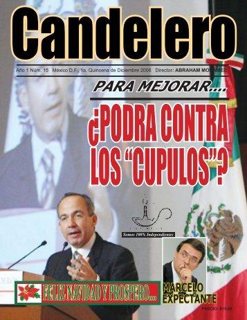 FELIZ NAVIDAD Y PROSPERO.... MARCELO - Candelero