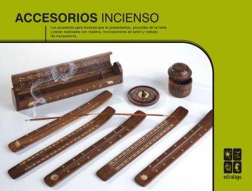 ACCESORIOS INCIENSO - Estrategic Franchising, SL
