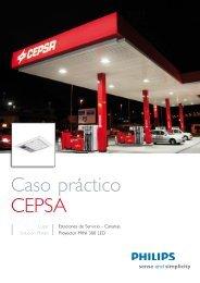 Caso práctico CEPSA - Philips Lighting