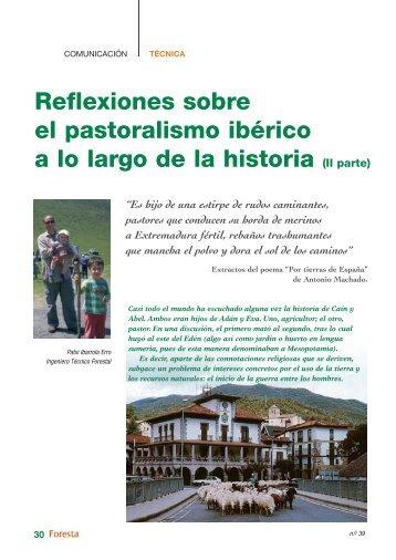 Reflexiones sobre el pastoralismo ibérico a lo largo de la historia