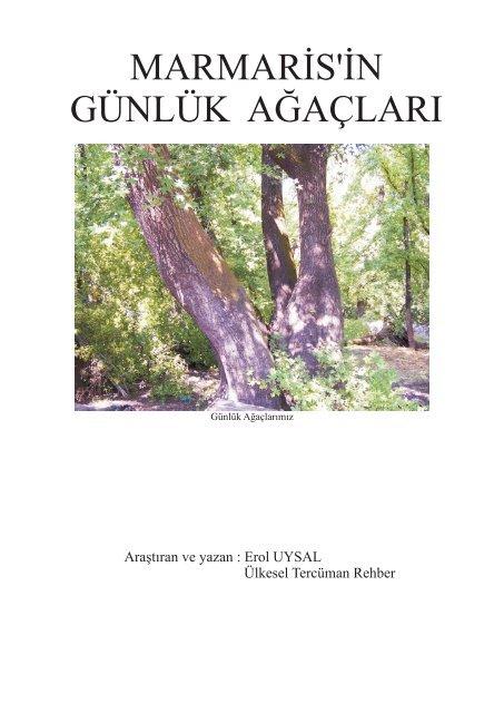Marmaris In Gunluk Apaclari Cdr