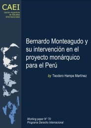 Bernardo Monteagudo y su intervención en el proyecto monárquico ...