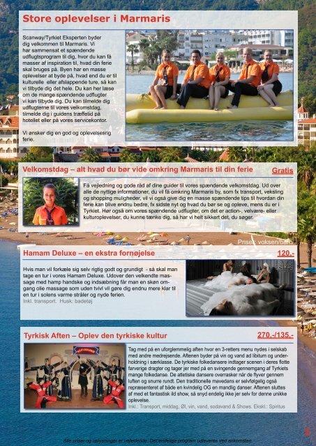 Store oplevelser i Marmaris 1 - Scanway /Tyrkiet Eksperten