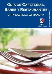 Guía de Cafeterías, Bares y Restaurantes - Upta CLM