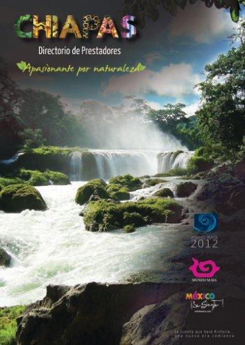 Directorio Prestadores Servicios Turisticos - Turismo en Chiapas