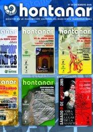 Colaboraciones - asociación cultural hontanar - alustante