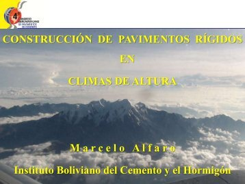 Construcción de PC en Altura - Marcelo Alfaro - Bolivia