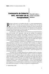 Centenario de Roberto Arlt, narrador de la marginalidad