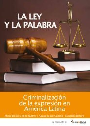 LA LEY Y LA PALABRA - Fundamedios