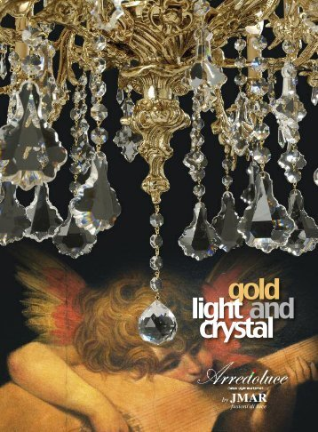 gold light and crystal