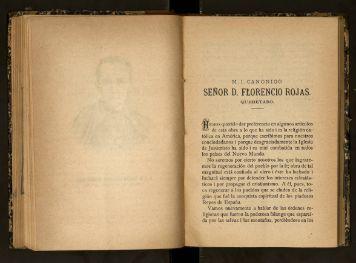 M. I. Canónigo Sr. Don Florencio Rosas, Querétaro. - cdigital