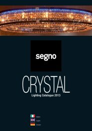 Segno - CRYSTAL 2013 - Relco Group