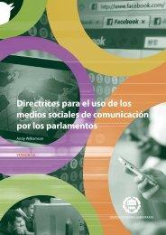 Directrices para el uso de los medios sociales - Inter-Parliamentary ...