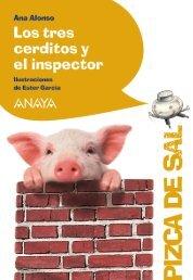 Los tres cerditos y el inspector (extracto) - Anaya Infantil y Juvenil