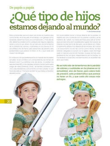 Revista formacion humanistica - Relación con Padres de Familia