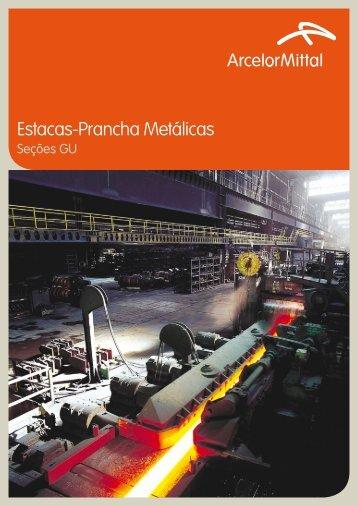 Estacas-Prancha Metálicas - ArcelorMittal