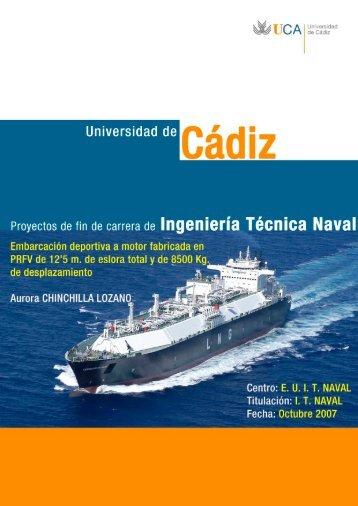 Eslora del casco - Universidad de Cádiz