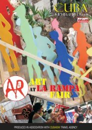 Art atLa Rampa Fair Art atLa Rampa Fair - CubaAbsolutely