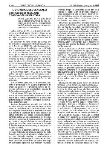 CS navegación, pesca y transporte marítimo - Xunta de Galicia