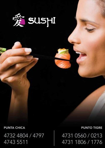 PUNTA CHICA PUNTO TIGRE - sushi