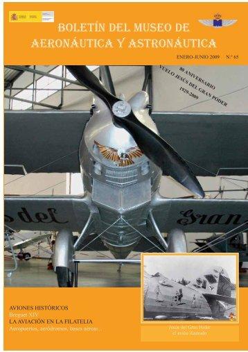 boletín del museo de aeronáutica y astronáutica - Ejército del Aire